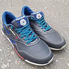 Кросівки Adidas р. 41 шкіра Харків темно-сині, фото 4