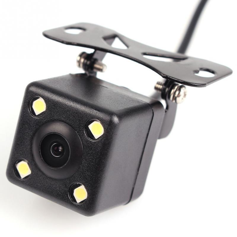Камера заднего вида с подсветкой на 4 диода