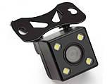 Камера заднего вида с подсветкой на 4 диода, фото 5