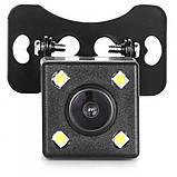 Камера заднего вида с подсветкой на 4 диода, фото 6