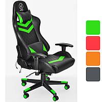 Кресло геймерское с RGB подсветкой компьютерное игровое Avko Style офисное для компьютера дома и офиса