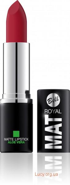 Помада для губ Royal Mat з алое віра Bell 25 (5902082502258)
