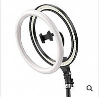 Кольцевая LED-лампа для селфи с подставкой Baseus Live Stream Holder-table Stand (10 дюймов) Black