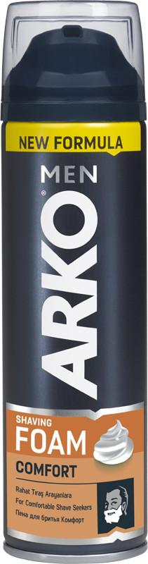 Піна для гоління ARKO Comfort 200 мл (8690506395902)