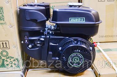 Двигатель Grunwelt GE 230 F-T (вал 20 мм, шлицы) 7,5 л.с. EURO 5