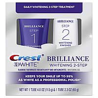 Відбілююча зубна паста Crest 3D White Brilliance Daily 2-Step
