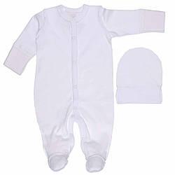Комплект для новорожденного для выписки, интерлок Татошка (размер р.50)