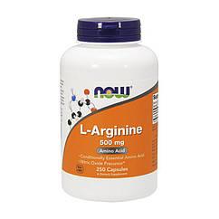 NOW Foods L-Arginine 500 mg, L-Аргінін (250 капс.)