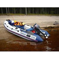 Лодочный мотор Yamaha 15FMHS  - подвесной мотор для яхт и рыбацких лодок, фото 3