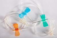 Катетер внутривенный для инъекций типа бабочка Medicare 22G (BUTTERFLY)