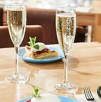 Світські келихи для шампанського Vina 190 мл набір 6 шт