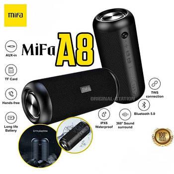 Мощная 30W Колонка Mifa A8 Black портативный динамик 30 Вт / IPX7 + AUX / MicroSD / TWS / Bluetooth 5.0