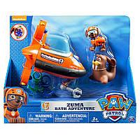 Зума и морские приключения: набор для ванной Paw Patrol Щенячий патруль, фото 1