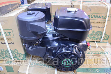 Двигатель Grunwelt GE 192 F-S (вал 25 мм, шпонка) 18,0 л.с. EURO 5
