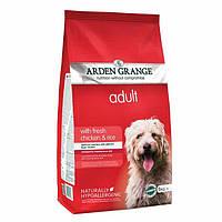 Arden Grange Adult chicken/rice Корм сухой для взрослых собак со свежей курицей и рисом 2 кг