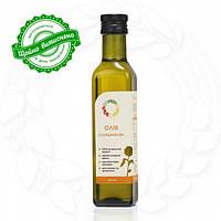 Подсолнечное сыродавленное масло в бутылке
