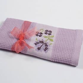Полотенце кухонное Lotus Life - Лиловый 40*60