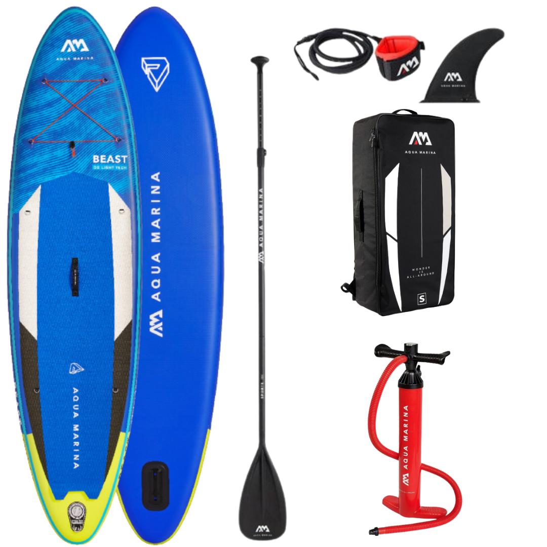Сапборд Aqua Marina Beast BT-21BEP 10'6 2021 - надувная доска для САП сёрфинга, sup board