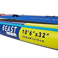 Сапборд Aqua Marina Beast BT-21BEP 10'6 2021 - надувная доска для САП сёрфинга, sup board, фото 4