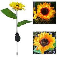 Светодиодный светильник Sunflower1 на солнечной батарее