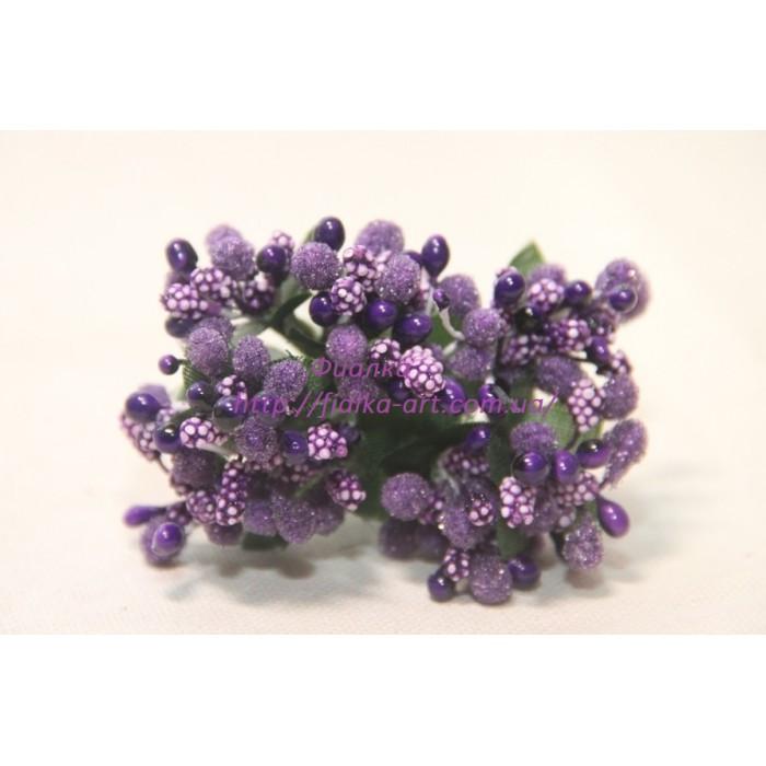 Добавка обычная  , темно - фиолетовая