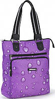 Женская оригинальная сумка из прочной болоньевой ткани Dolly (Долли) 459 фиолетовый