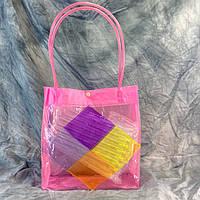 Пляжная летняя сумка Ромб