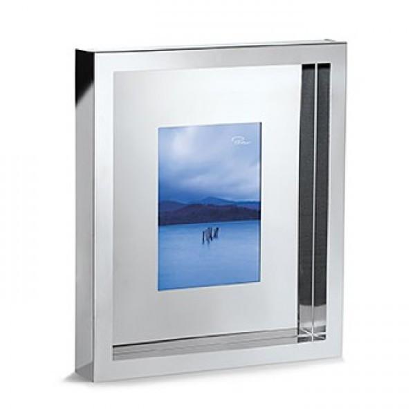 """Рамка для фотографий из стали с зеркальной полировкой """"Lonely Planet"""" размер фотографии 13*18"""