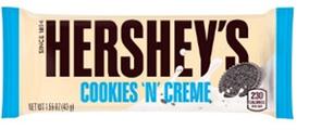 HERSHEY'S білий шоколад з печивом та кремовим смаком 43г