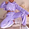 Спортивний жіночий костюм двійка з капюшоном