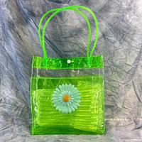 Пляжная летняя сумка Ромашка