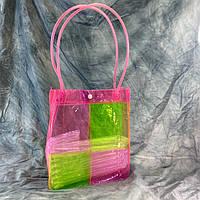 Пляжная летняя сумка Квадрат