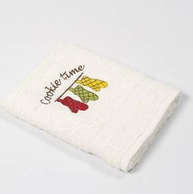 Полотенце кухонное Lotus Sun - Cookie time кремовый 40*70