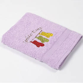 Полотенце кухонное Lotus Sun - Cookie time лиловый 40*70