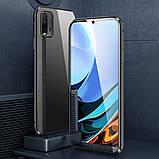 Магнитный металл чехол FULL GLASS 360° для Xiaomi Redmi 9T, фото 7