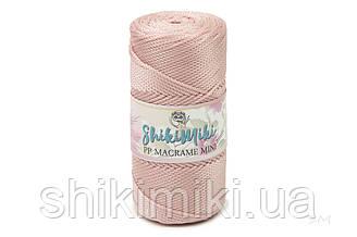 Полипропиленовый шнур PP Macrame Mini, цвет Розовая пудра