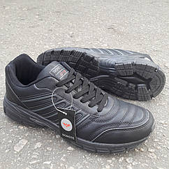 Кросівки Bonote р. 44 чорні кожзам сезон осінь/весна