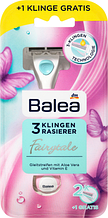 Бритва женская Balea Rasierer Fairytale 3 Klingen 1шт