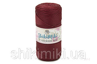 Полипропиленовый шнур PP Macrame Mini, цвет Марсала