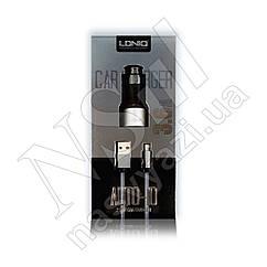 АЗУ USB LDNIO C303 3.6A 2в1 (адаптер + кабель USB-Lightning) 2 Ports