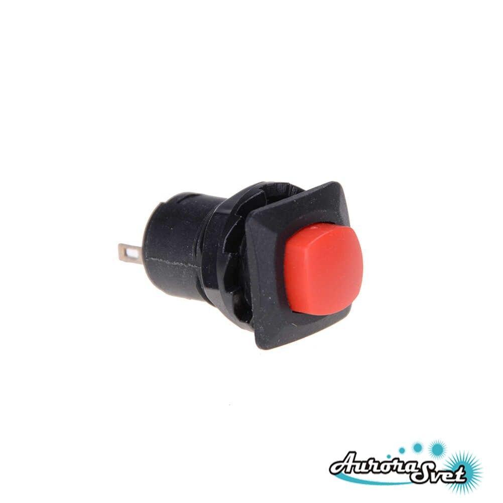 Кнопка без фиксации  250 В  1.5A  панельная под гайку