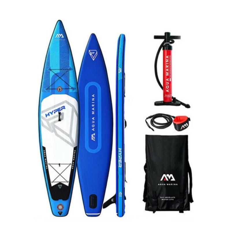 """Сапборд Aqua Marina Hyper 12'6"""" 2020 - надувна дошка для САП серфінгу, sup bard"""