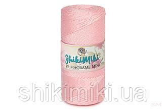 Полипропиленовый шнур PP Macrame Mini, цвет Нежно-розовый