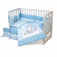 Детский постельный набор Верес Summer Bunny blue (6 ед.) (217.04)