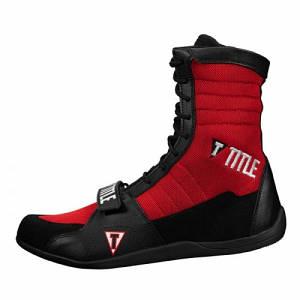 Боксерки Title Ring Freak Boxing Shoes Black Red