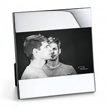 """Рамка для фотографій з нікельованої сталі з дзеркальною поліровкою """"Zak"""" розмір фотографії 10*15"""