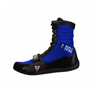 Боксерки Title Ring Freak Boxing Shoes Black Blue