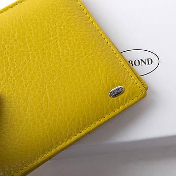 Жеснкий кошелек Classic кожа DR. BOND WN-7 желтый, фото 2