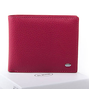 Жеснкий кошелек Classic кожа DR. BOND WN-7 розовый, фото 2