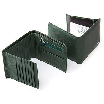 Жеснкий кошелек Classic кожа DR. BOND WN-7 зеленый, фото 2